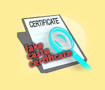 employees public servants and others availing benefits like jobs and other opportunities by managing to get fake caste certificates